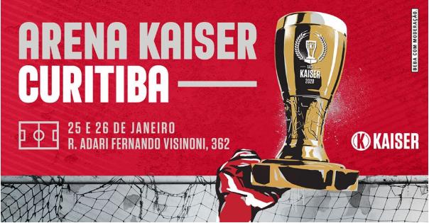 Arena Kaiser traz futebol de várzea, arte e música para Curitiba durante as finais da Taça KaiserArena Kaiser traz futebol de várzea, arte e música para Curitiba durante as finais da Taça Kaiser