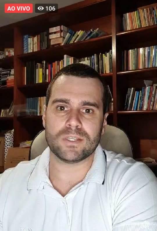 Fúlvio Boberg presidente da Câmara de Jacarezinho - Marcos Junior