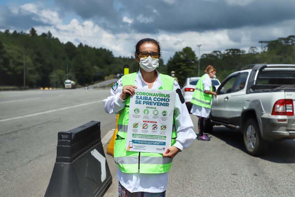 Sandro Alex explicou que a Rodonorte criou um ponto de apoio aos caminhoneiros em São Luiz do Purunã, incluindo atendimento médico