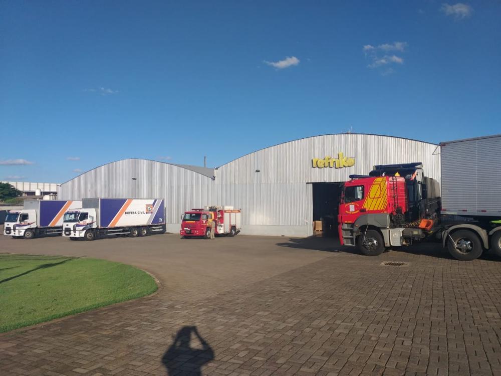 Coordenadoria Estadual da Defesa Civil comanda a logística para distribuição