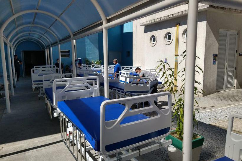 Unidade tem agora dez leitos de UTI para pacientes com Covid-19 e se tornou referência na região