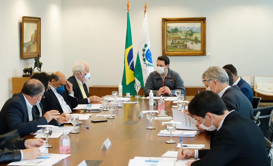 O assunto foi tratado nesta quinta-feira (7) em reunião com a equipe responsável pelo planejamento das ações de recuperação do Paraná
