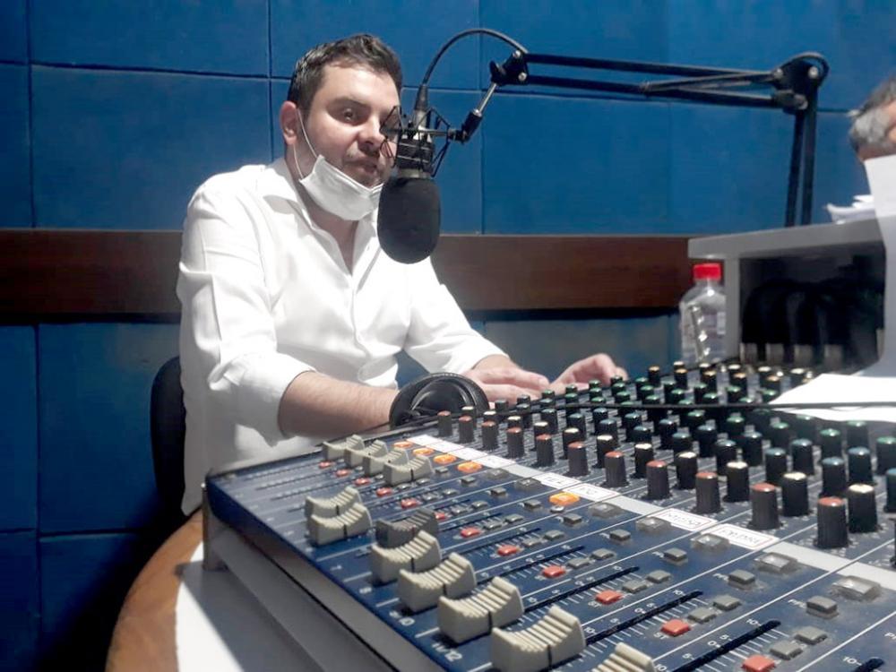 Francisco Peres - Secretário Municipal de Saúde de Cambará durante entrevista ao programa Circulando no Rádio