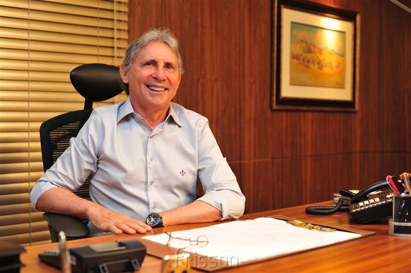 Vilmar Ferreira, empresário, é presidente do Grupo Aço Cearense