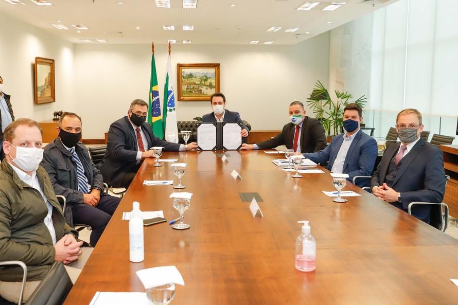 Governador Ratinho Junior destaca união de esforços