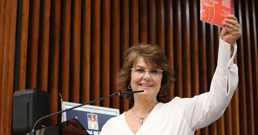 Deputada Cristina Silvestri (CDN), procuradora da Mulher na Assembleia Legislativa do Paraná