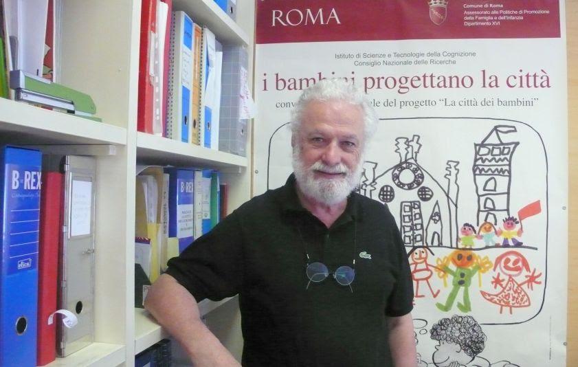 O italiano Francesco Tonuccie participa de webinar que discute a educação pós-pandemia