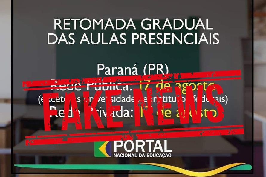 DATA DE RETORNO ÀS AULAS PRESENCIAIS NÃO ESTÃO DEFINIDA