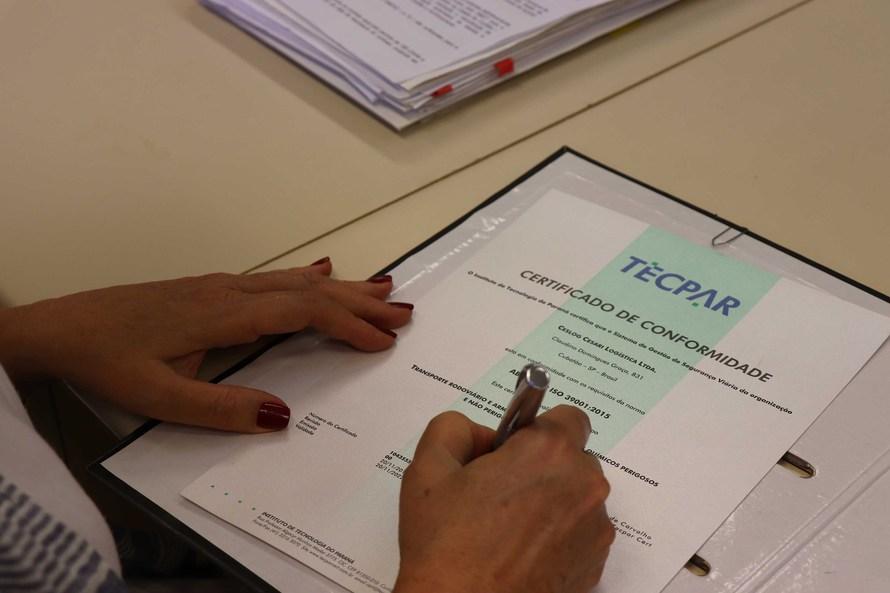 Tecpar Certificação credencia auditores independentes
