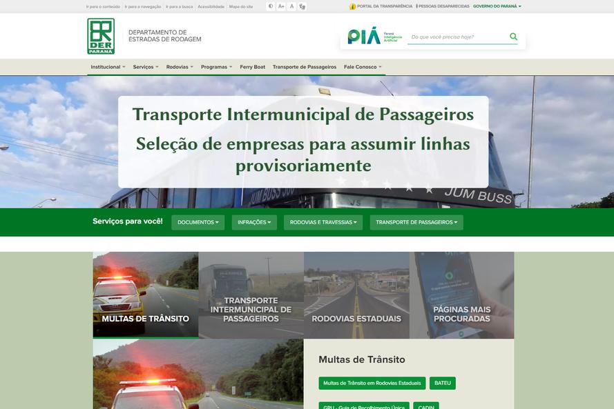 DER LANÇA NOVO PORTAL COM FOCO NO CIDADÃO