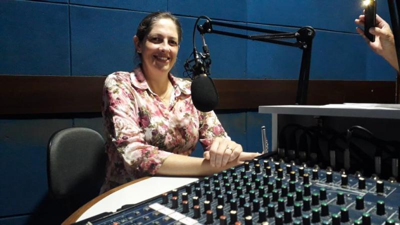 Enfermeira Bárbara Menossi foi a convidada de hoje do programa Circulando no Rádio