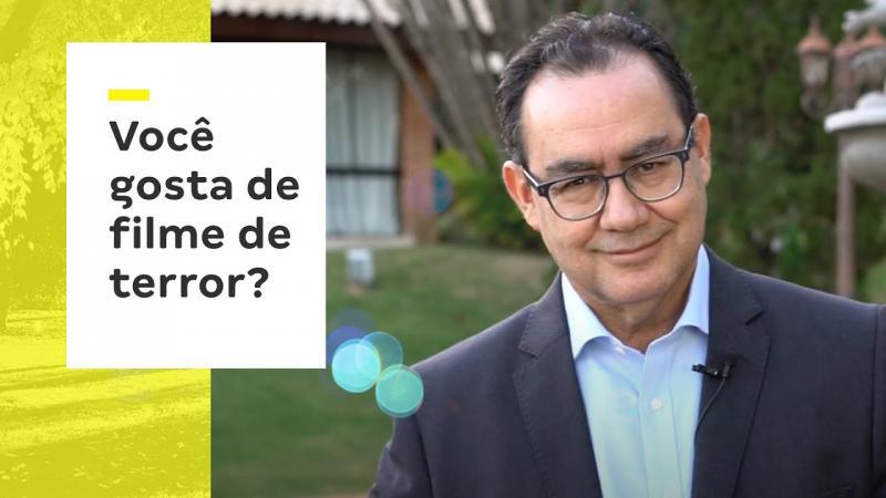 Um tempinho com Dr. Augusto Cury