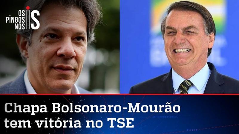 Haddad perde mais uma para Bolsonaro