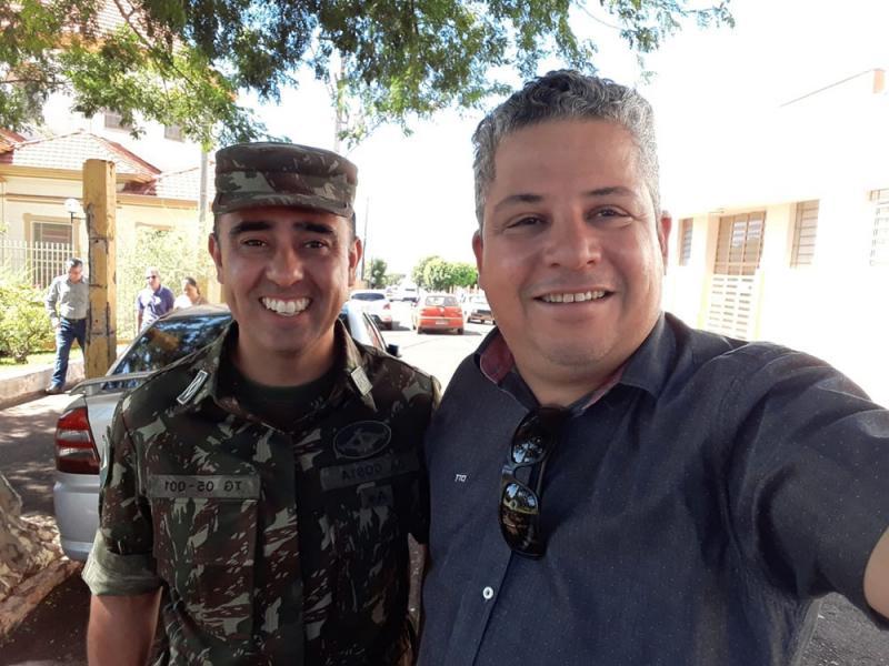 Subtenente Vagner Costa assume Tiro de Guerras de Cambará