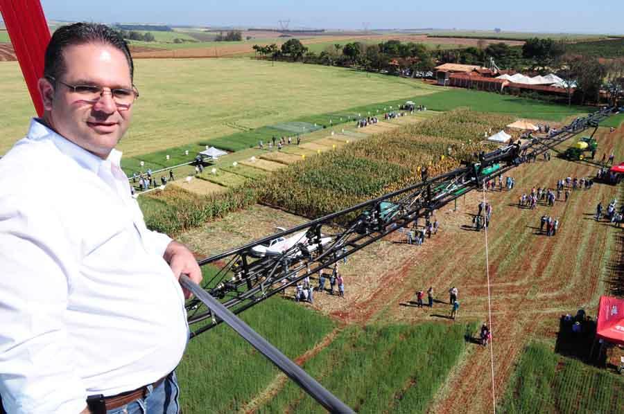 SHOW da AGRICULTURA: Sementes Sorria apresenta variedades de Trigo e Milho durante mostra técnica