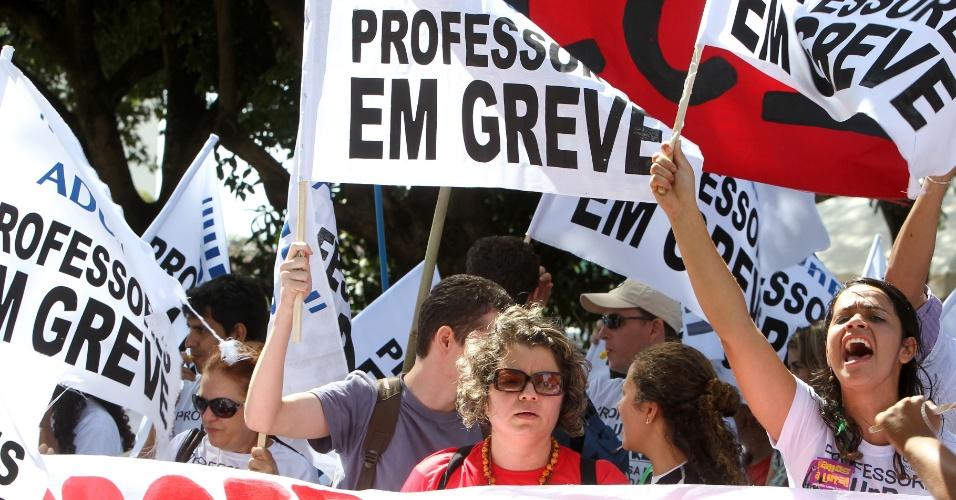 Assembleia de professores em greve é marcada para o dia 4 de março