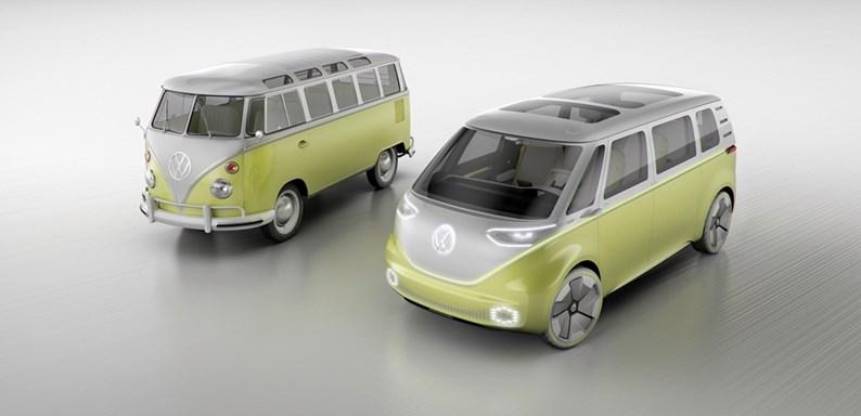VW exibe 'sucessor espiritual' autônomo e elétrico da Kombi, o I.D. Buzz
